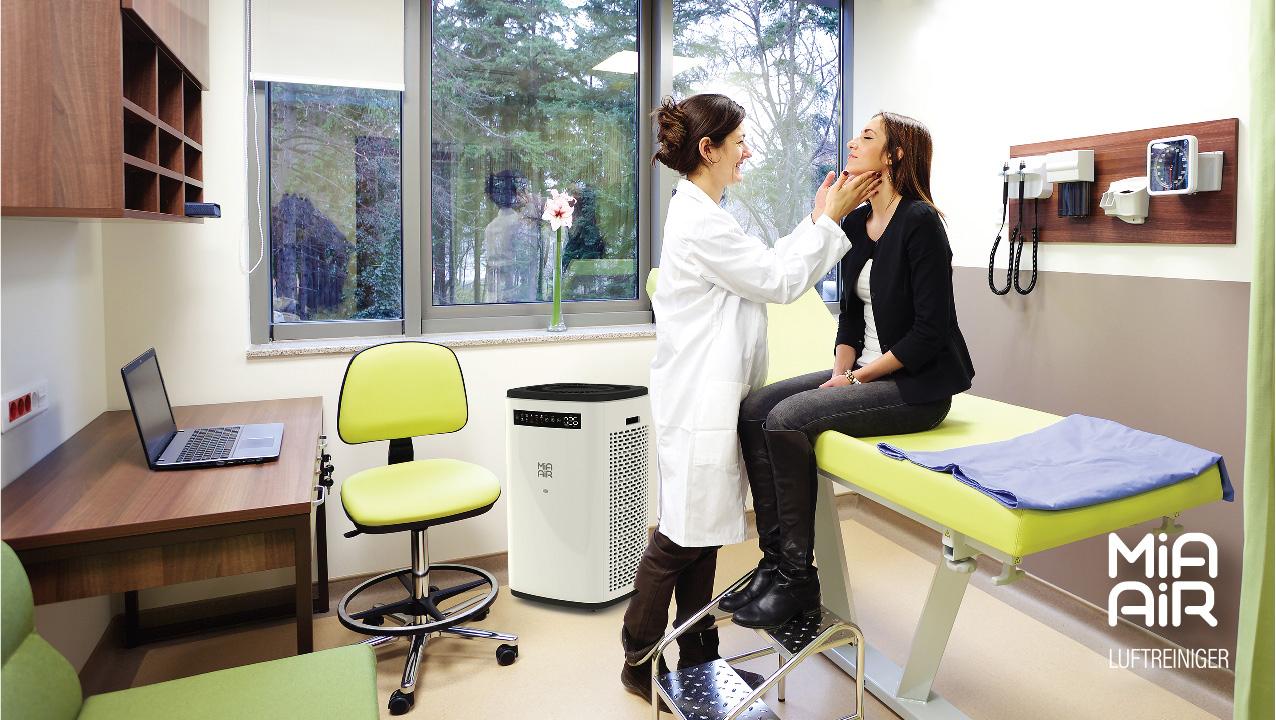 MiaAir2 Arztpraxis
