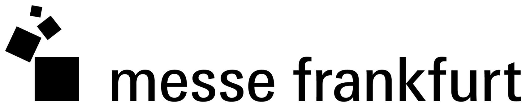 Logo Messe Frankfurt schwarz