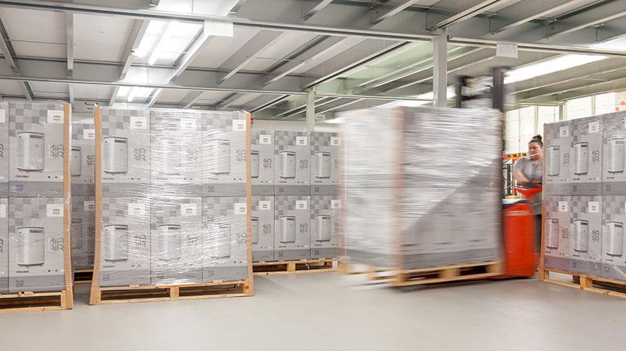 FBT Einblick in Logistik
