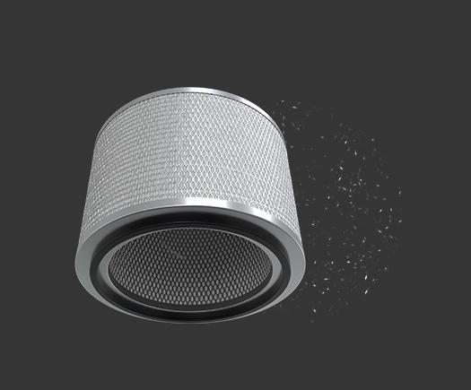 Mia Air Lamp HEPA Filter mit ANTIMIC Beschichtung