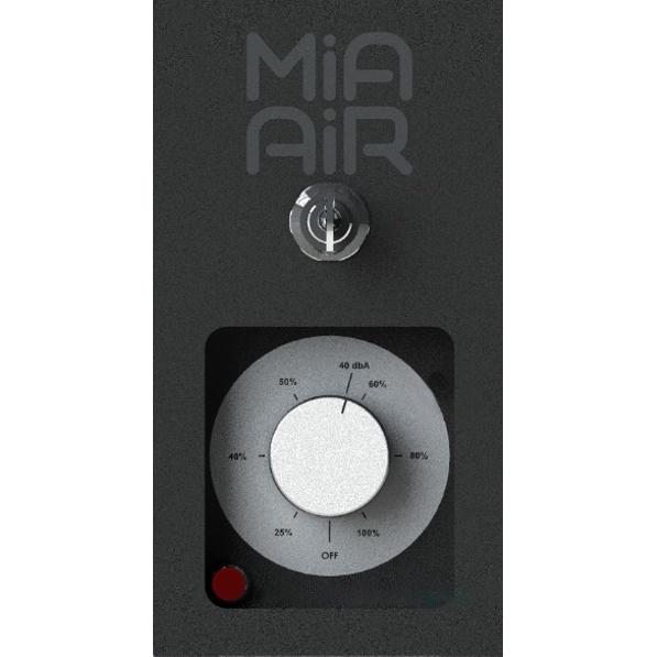 Luftreiniger Mia Air Tower Lite Display