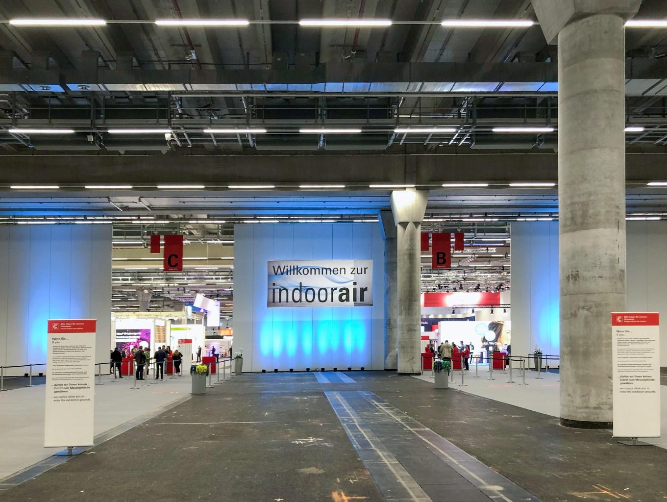Impressionen IndoorAir 2021 Frankfurt